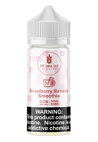 Strawberry Banana Smoothie 100mL