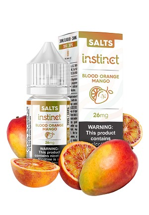 SALTS - Instinct - Blood Orange Mango 30mL